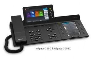 华为eSpace 7900系列IP话机,这是一款最新式的支持多种协议的SIP电话机