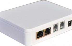 深圳唯一2口VOIP语音网关-EVG110B-2FXS语音网关,支持VOS加密、传真